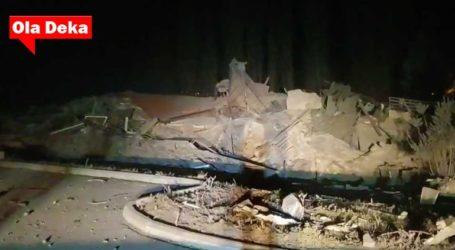 Έκρηξη κατεδάφισε ξενοδοχείο στην Καστοριά