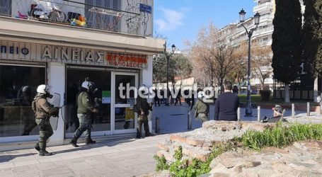 Θεσσαλονίκη: Επεισόδια μεταξύ αστυνομίας και αντιεξουσιαστών