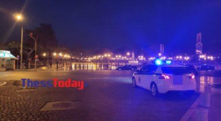Η Θεσσαλονίκη ερήμωσε ξανά – Σε ισχύ η απαγόρευση κυκλοφορίας