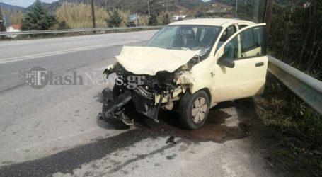 Σφοδρή σύγκρουση αυτοκινήτων στην Κίσαμο