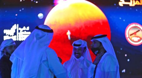 To διαστημόπλοιο των Ηνωμένων Αραβικών Εμιράτων σε τροχιά γύρω από τον Άρη