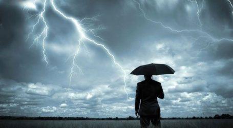 Ισχυρή καταιγίδα στα βόρεια προάστια