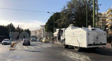 Ένταση σημειώθηκε νωρίτερα έξω από τα δικαστήρια της Ευελπίδων