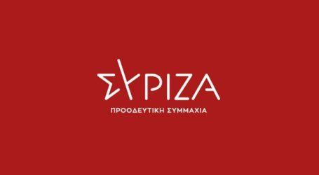 ΣΥΡΙΖΑ: Καταρρέει η αγορά εργασίας