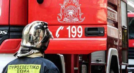 Πυρκαγιά σε λεωφορείο επί της N.E.O. Aθηνών-Λαμίας
