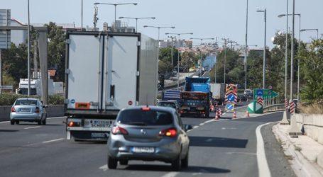 Απαγόρευση κυκλοφορίας για τα φορτηγά στην εθνική οδό Λάρισας-Κοζάνης και στη Λάρισας-Ελασσόνας-Κοζάνης