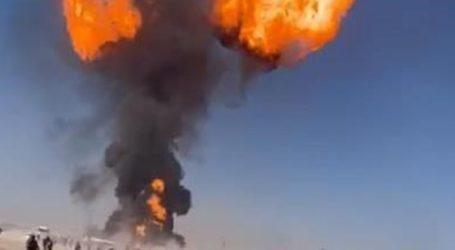 Τουλάχιστον 17 τραυματίες από την έκρηξη βυτιοφόρου με καύσιμα στα σύνορα με το Ιράν