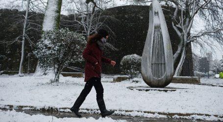 Η δεύτερη φάση της κακοκαιρίας «Μήδεια» ξεκινάει τη Δευτέρα με πυκνές χιονοπτώσεις