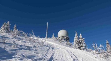 Στους -28,8°C η θερμοκρασία στα όρη Ερτσγκεμπίργκε