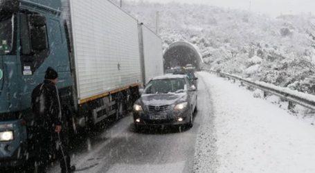 Κανονικά η κυκλοφορία των φορτηγών στην Εγνατία οδό