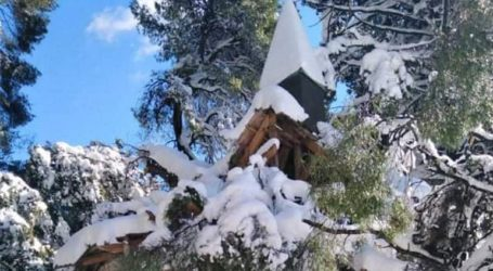 Καταστράφηκε η στέγη του Φυλακίου στο Κτήμα Τατοΐου