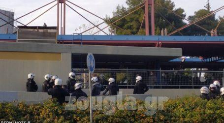 LIVE: Παρέμβαση υπέρ του Κουφοντίνα στα γραφεία της ΝΔ