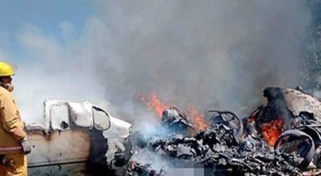 Έξι νεκροί στη συντριβή Learjet του μεξικανικού στρατού