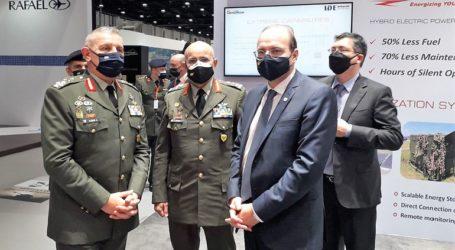 Συναντήσεις του υπουργού Άμυνας της Κύπρου στα Ηνωμένα Αραβικά Εμιράτα