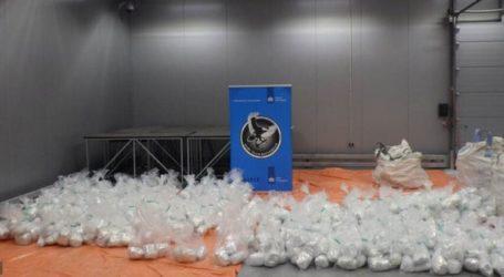 Οι τελωνειακές αρχές της Ολλανδίας κατέσχεσαν 1,5 τόνο ηρωίνης