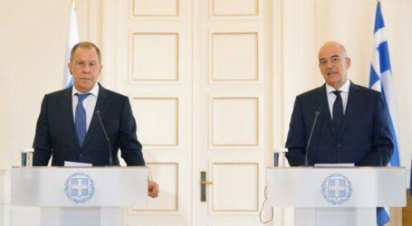 Οι σχέσεις Ελλάδας-Ρωσίας στην επικοινωνία Δένδια-Λαβρόφ