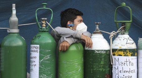 Ένα πρώτο φορτίο οξυγόνου για ιατρική χρήση εστάλη στο Περού από τη Χιλή