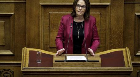 Κ.Παπανάτσιου: Το νομοσχέδιο για το μισθολόγιο της ΑΑΔΕ θα εντείνει τις ανισότητες μεταξύ των υπαλλήλων