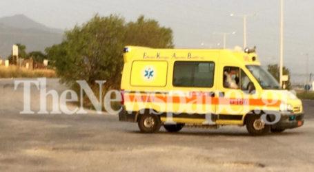 Βόλος: 32χρονη τραυματίστηκε σε τροχαίο στην οδό Λαρίσης