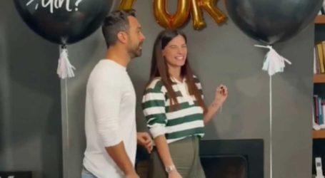 Χριστίνα Μπόμπα-Σάκης Τανιμανίδης: Αποκάλυψαν το φύλο των διδύμων! Δείτε το συγκινητικό βίντεο