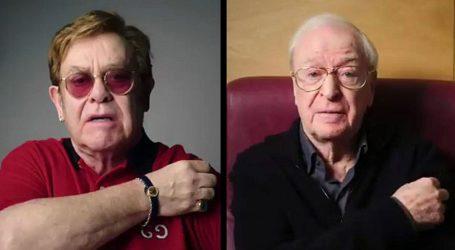 Elton John και Michael Caine πρωταγωνιστούν σε βίντεο για τον εμβολιασμό κατά της Covid-19