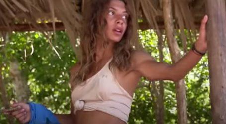 Survivor: Η αντίδραση της Μαριαλένας όταν βλέπει τον πρώην σύντροφό της στην παραλία των Μπλε