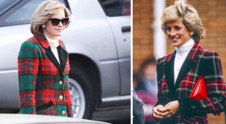 Νέες φωτογραφίες της Kristen Stewart από τη μεταμόρφωσή της σε Lady Diana