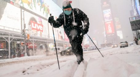 Συναγερμός στις ΗΠΑ από σφοδρή χιονοθύελλα