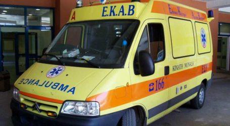 Στο Νοσοκομείο Βόλου 70χρονη μετά από πτώση από σκάλες