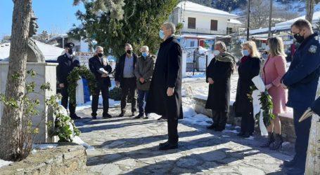Ελασσόνα: Άσβεστες μνήμες στο μαρτυρικό «Καυκάκι» – Τιμή στους 140 εκτελεσθέντες