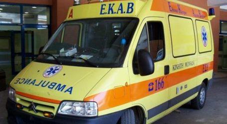 Στο Πανεπιστημιακό Νοσοκομείο Λάρισας μεταφέρεται 30χρονος με οξύ έμφραγμα