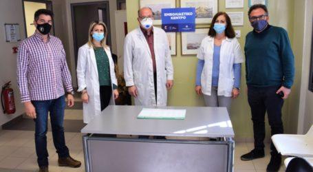 Ξεκινάει ο εμβολιασμός για τον Covid 19 στο Περιφερειακό Ιατρείο Νίκαιας – Ενημερώθηκαν οι αντιδήμαρχοι Αχ. Χατζούλης και Κ. Χατζηκωνσταντίνου