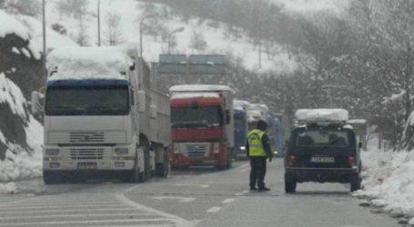Άρση απαγόρευσης κυκλοφορίας όλων των φορτηγών για τις ε.ο. Λάρισας-Κοζάνης και την ε.ο. Λάρισας-Ελασσόνας-Κοζάνης