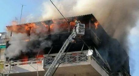 Σχεδόν ολοσχερώς κάηκε διαμέρισμα στη Λάρισα – Σώοι οι ένοικοι του σπιτιού