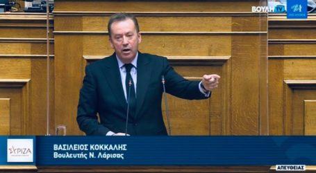 Κόκκαλης στη Βουλή: Αυτές είναι οι τρεις στοχευμένες και ουσιαστικές προτάσεις για την ενίσχυση του επιχειρείν