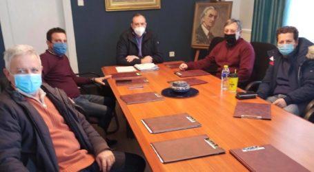 Δήμος Τυρνάβου: Συνάντηση Κόκουρα – Λιόντου για τον παγετό