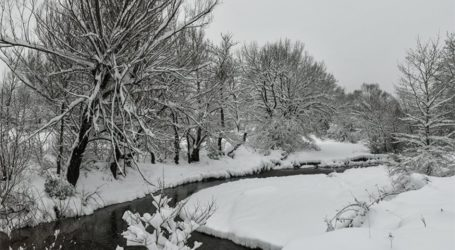 Η λίμνη Πλαστήρα χιονισμένη! – Δείτε εντυπωσιακές εικόνες