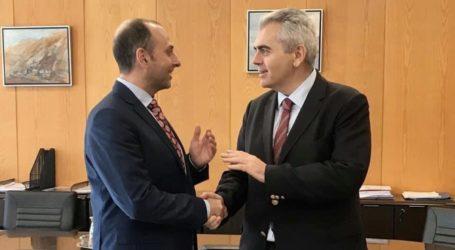 Μ. Χαρακόπουλος με Γενικό Γραμματέα Υποδομών: Τον Μάιο η σύμβαση για τη μελέτη των συνοδών έργων του Σμοκόβου
