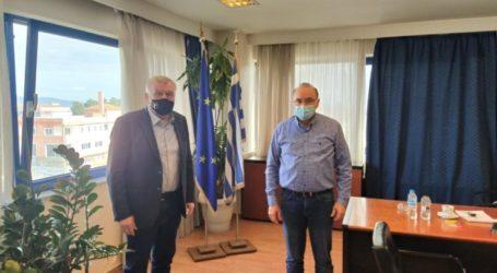 Συνάντηση Προέδρου της ΠΕΔ Θεσσαλίας με τον συντονιστή της Αποκεντρωμένης Διοίκησης Θεσσαλίας – Στερεάς Ελλάδα