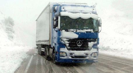 Μήδεια: «Πράσινο φως» για τη μετακίνηση φορτηγών στην εθνική οδό