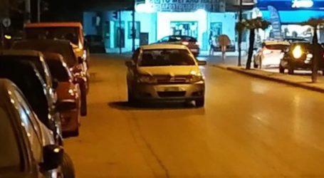 Επικίνδυνος οδηγός στη Λάρισα: Παράτησε το αυτοκίνητό του χωρίς καν αλάρμ καταμεσής της οδού Σαρίμβεη (φωτο)