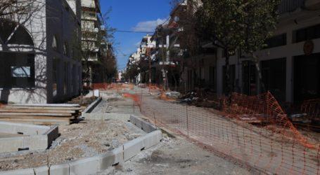 Λάρισα: Συνεχίζονται τα έργα στην οδό Γ. Σεφέρη – Νέες κυκλοφοριακές ρυθμίσεις από αύριο (φωτο)