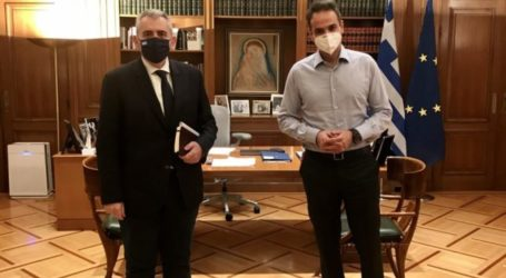 Ο Μ. Χαρακόπουλος στο Μαξίμου: Η κυβέρνηση Μητσοτάκη δίνει λύσεις και αντιμετωπίζει χρόνιες παθογένειες