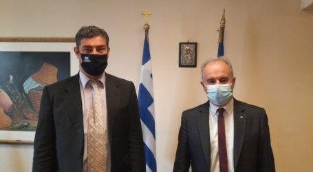 Δήμος Τεμπών: Στα γραφεία του ΕΛΓΑ στην Αθήνα ο Γ. Μανώλης