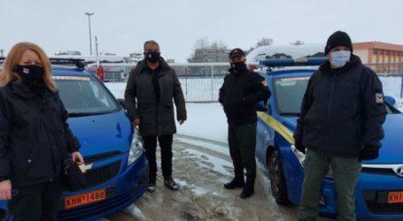 """Δήμος Λαρισαίων: Με όλες τις δυνάμεις της συνέβαλε η Δημοτική Αστυνομία για την αντιμετώπιση της """"Μήδειας"""""""