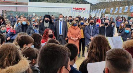 Λιακούλη: Τα παιδιά του Δαμασίου συγκλονίζουν με το μήνυμα της επετείου