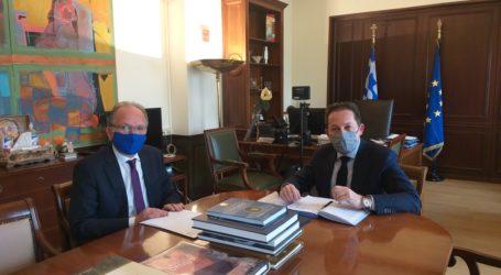 Τα προβλήματα των Δήμων της Μαγνησίας στο επίκεντρο της συνάντησης Λιούπη- Πέτσα