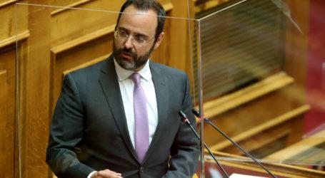 Κων. Μαραβέγιας: Η Ν.Δ. δεν θα υποκύψει σε πολιτικούς εκβιασμούς  απ' όπου κι αν προέρχονται