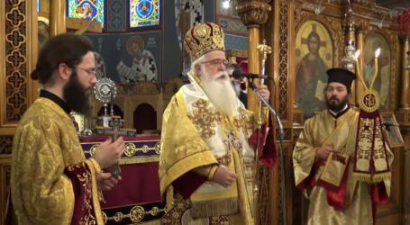 Καρέ καρέ ο εορτασμός της Κυριακής της Ορθοδοξίας στον Βόλο [εικόνες και βίντεο]