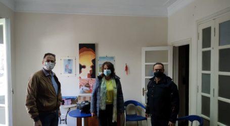 Συνάντηση Κ. Παπανάτσιου με το Σύλλογο Φυσικοθεραπευτών Μαγνησίας